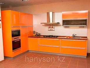 Кухонные гарнитуры цветные фасады МДФ