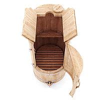 Кедровая бочка Профессиональная овальная со скосом, фото 1