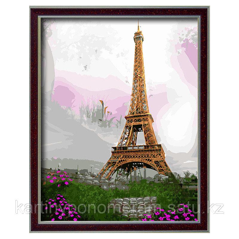 """Картина по номерам """"Эйфелева башня 10"""""""