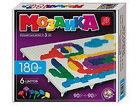 Детская мозаика пластмассовая, 180 элементов