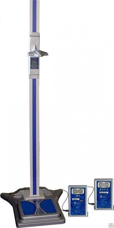 Весы электронные с функцией измерения роста и индекса массы тела ВМЭН-200-50/100-С-СТ-А.