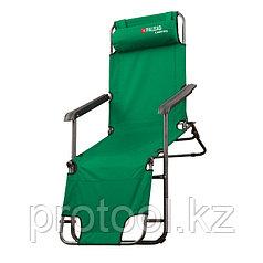 Кресло-шезлонг двухпозиционное 156*60*82cm//PALISAD Camping
