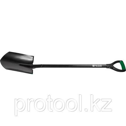 Лопата штыковая, металлический черенок, заостренная// PALISAD, фото 2