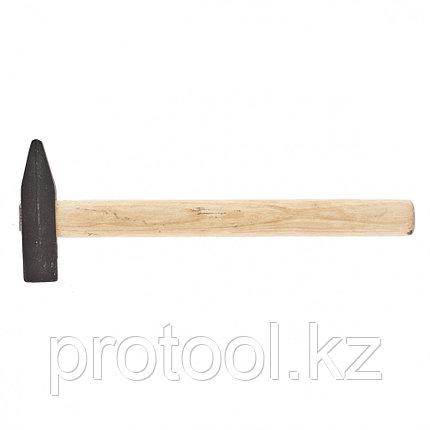Молоток слесарный, 600 г, квадратный боек, деревянная рукоятка// Россия, фото 2