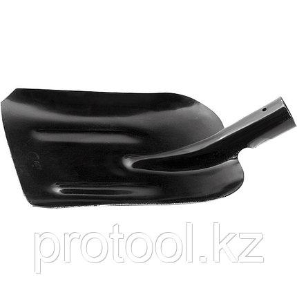 Лопата совковая с ребрами жесткости, упрочненная сталь Ст5, без черенка//СИБРТЕХ  Россия, фото 2