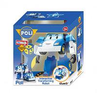 Робот-трансформер Поли на радиоуправлении. Управляется в форме робота и машины 83086, фото 1