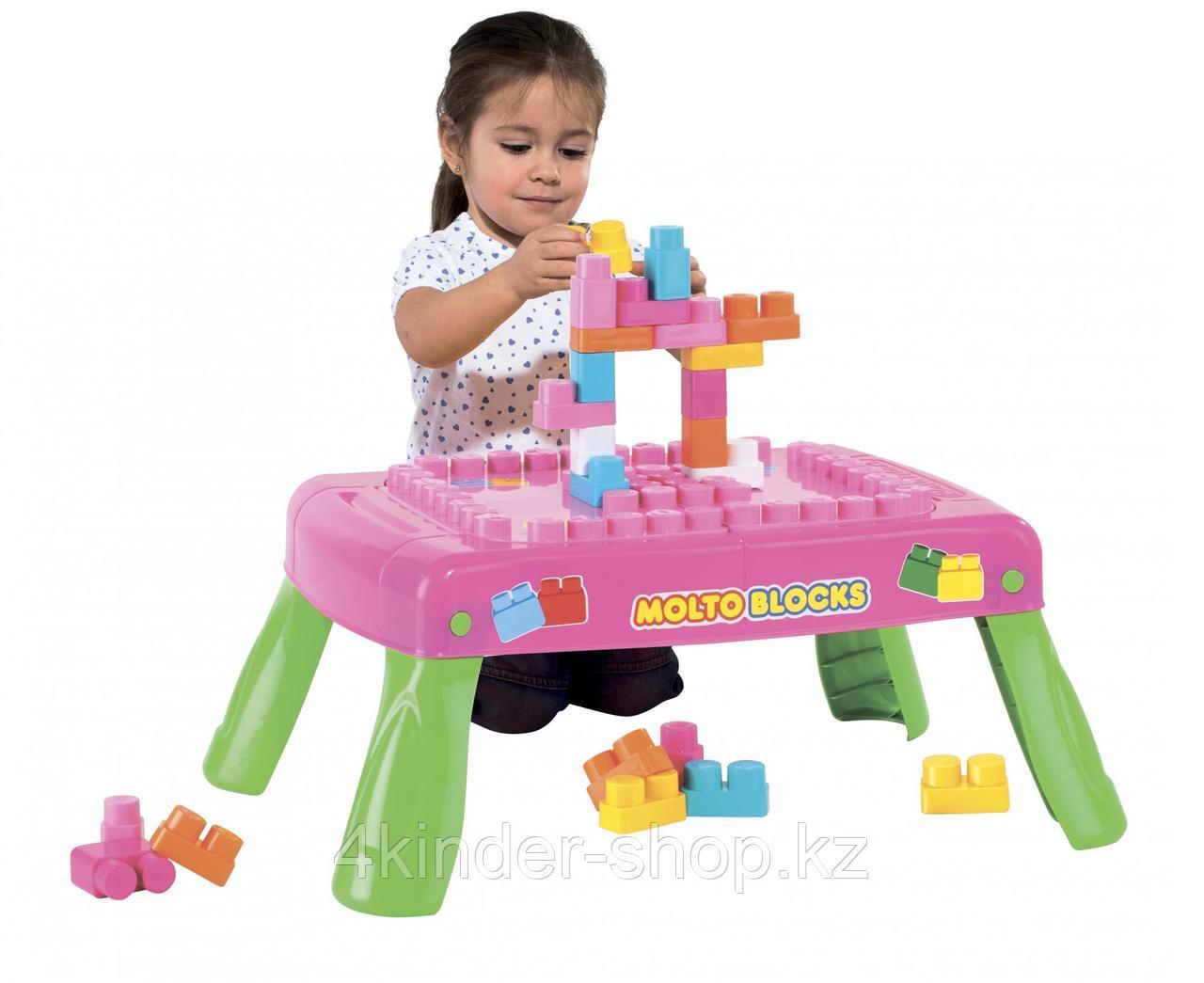 Игровой набор с конструктором в коробке (розовый) - фото 2