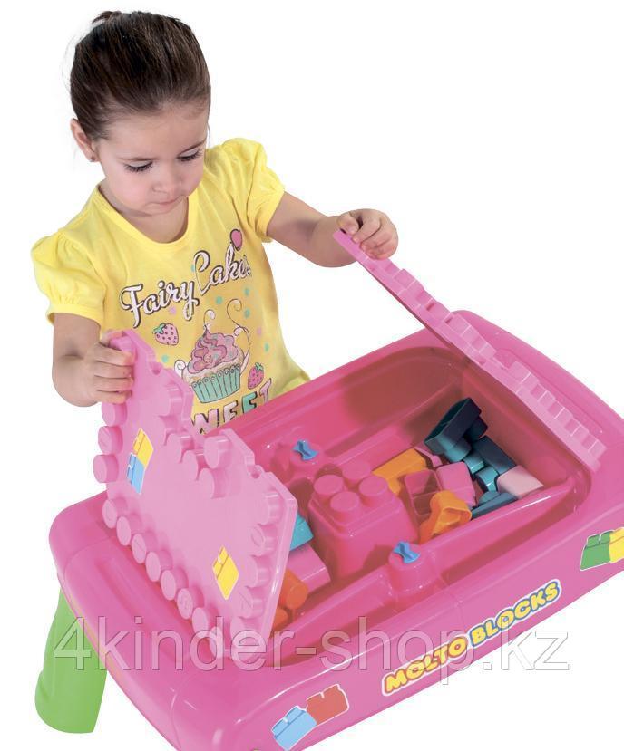 Игровой набор с конструктором в коробке (розовый) - фото 3