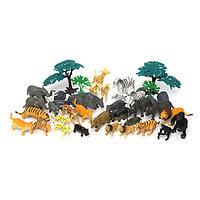 Игровой набор Сафари (40 предметов)