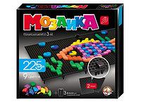 Пластмассовая детская мозаика, 225 элементов, черные поля, фото 1