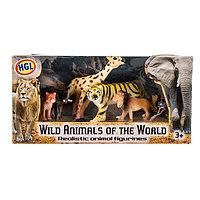 Набор фигурок диких животных Wild Animals of the World