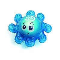 Игрушка для ванной со световым эффектом (осьминожек)