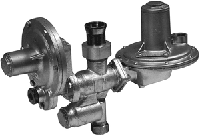 Регулятор давления газа комбинированный домовый РДГД-20, РДГД-20М