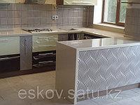 Купить столешницу  из искусственного  камня для кухни алматы, фото 1