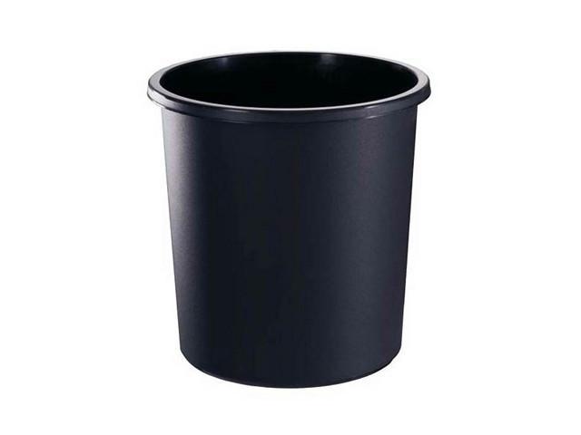 Корзина 18 литров цельная черная (СТАММ КР41)