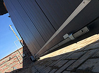 Откатные консольные ворота из сэндвич панелей Ryterna, фото 1