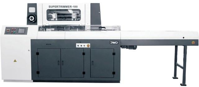 Автоматическая 3-ножевая резальная машина SUPERTRIMMER-100