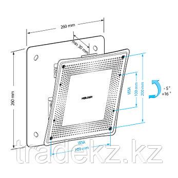 Кронштейн для монитора наклонный Holder LCD-T2802M-B, фото 2