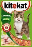 Kitekat с Кроликом в Желе Китикэт консервы для взрослых кошек, 85 г