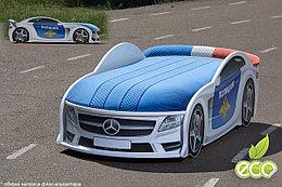 Кровать машина детская Мерседес-М police