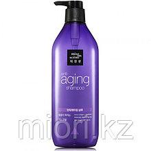 Антивозрастной шампунь Mise en Scene Black Pearl Anti-aging Full and Thick Shampoo,680мл