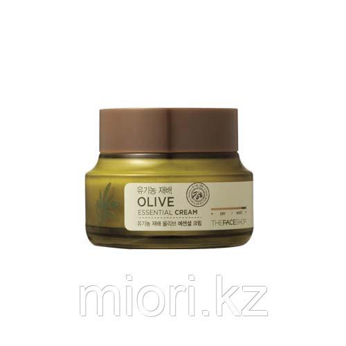Увлажняющий крем для лица The Face Shop Olive Essential Deep Moist Cream