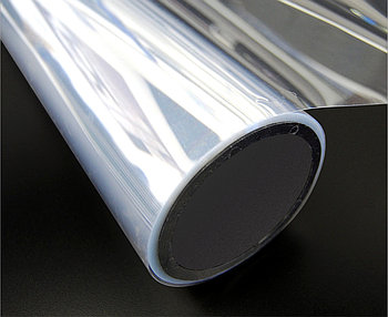 Прозрачный пластик для пигментной печати без клеевого слоя (150мкм)  (1,27м х30м)