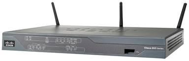 Cisco 881 Eth Sec Router with 802.11n ETSI Compliant