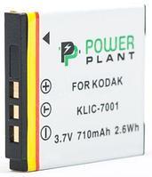 Аккумулятор PowerPlant Kodak KLIC-7001 710mAh