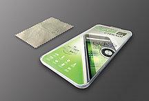 Защитное стекло PowerPlant для Huawei P8
