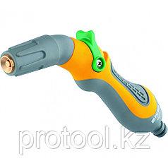 Пистолет-распылитель, регулируемый, плавающий курок, эргономичная рукоятка // PALISAD LUXE