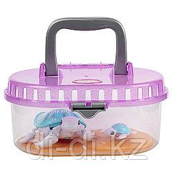 Интерактивная Черепашка с малышом в аквариуме