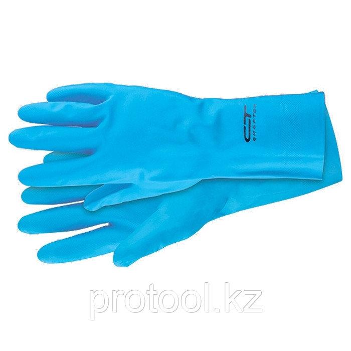 Перчатки резиновые технические маслобензостойкие, XL // СИБРТЕХ