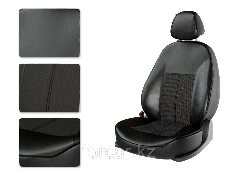 Чехлы модельные NISSAN SENTRA черный/черный/черный