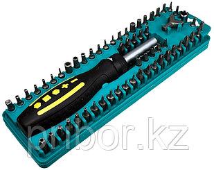 Pro`sKit SD-205 Набор: Отвертка с трещоткой и битами