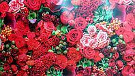 """Бумага подарочная """"Красные розы"""""""