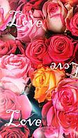 """Бумага подарочная """"Love"""", фото 1"""