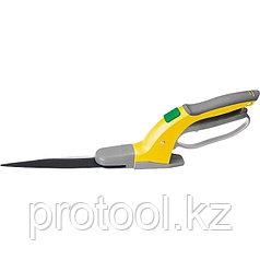 Ножницы для травы 350 мм, тефлоновое покрытие лезвий, поворот лезвий до 360 град. // PALISAD LUXE