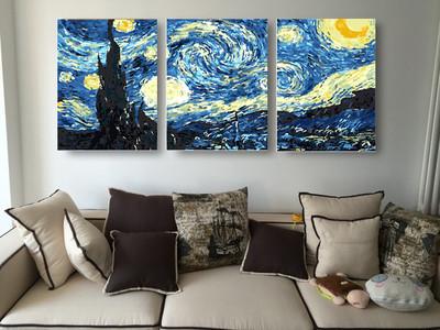 """Картины по номерам """"Звездная ночь"""" Ван Гог"""