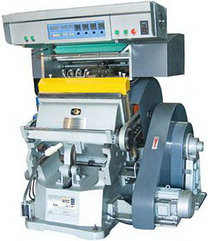 GUANFOIL TYMC-750 - пресс тигельный с ручной подачей