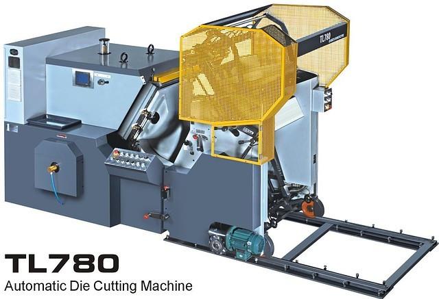 TL-780 - автоматический пресс для высечки и тиснения