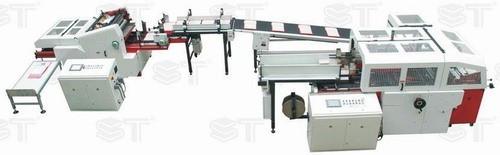 Поточная линия для производства папок и крышек ST036B +ST040PP