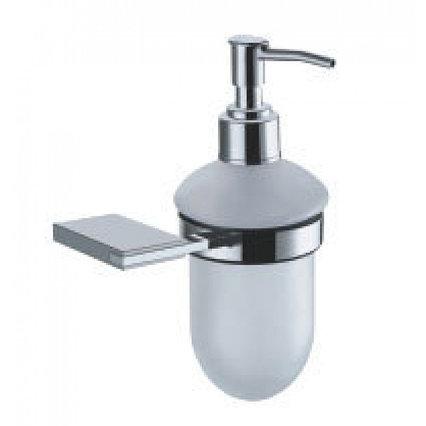 Дозатор жидкого мыла серебристый Fixsen Noble FX-6112