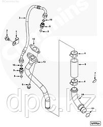 Трубка подачи масла к турбине Cummins ISL QSL 3282167