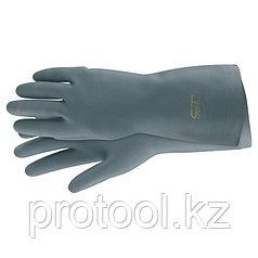 Перчатки резиновые сантехнические, XL // СИБРТЕХ