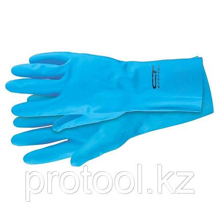 Перчатки резиновые технические маслобензостойкие, XXL // СИБРТЕХ, фото 2