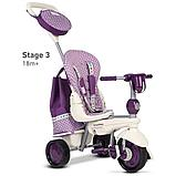 Велосипед Smart Trike 5в1 Dazzle/Splash Purple, фото 4