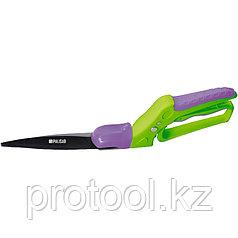 Ножницы, 360 мм, газонные, поворот режущей части на 180 градусов, пластмассовые ручки// PALISAD