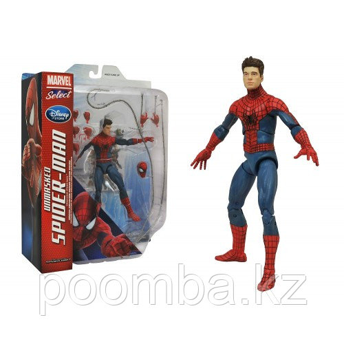 Spider Man Unmasked Marvel Select - Человек Паук без маски