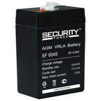Аккумулятор SF06045, 6V/4,5A*ч